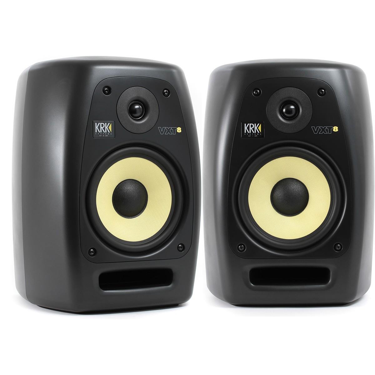 Krk VXT8 Monitor de Áudio Ativo 180W, 8'' 2-Vias, Preto, Bivolt, Par