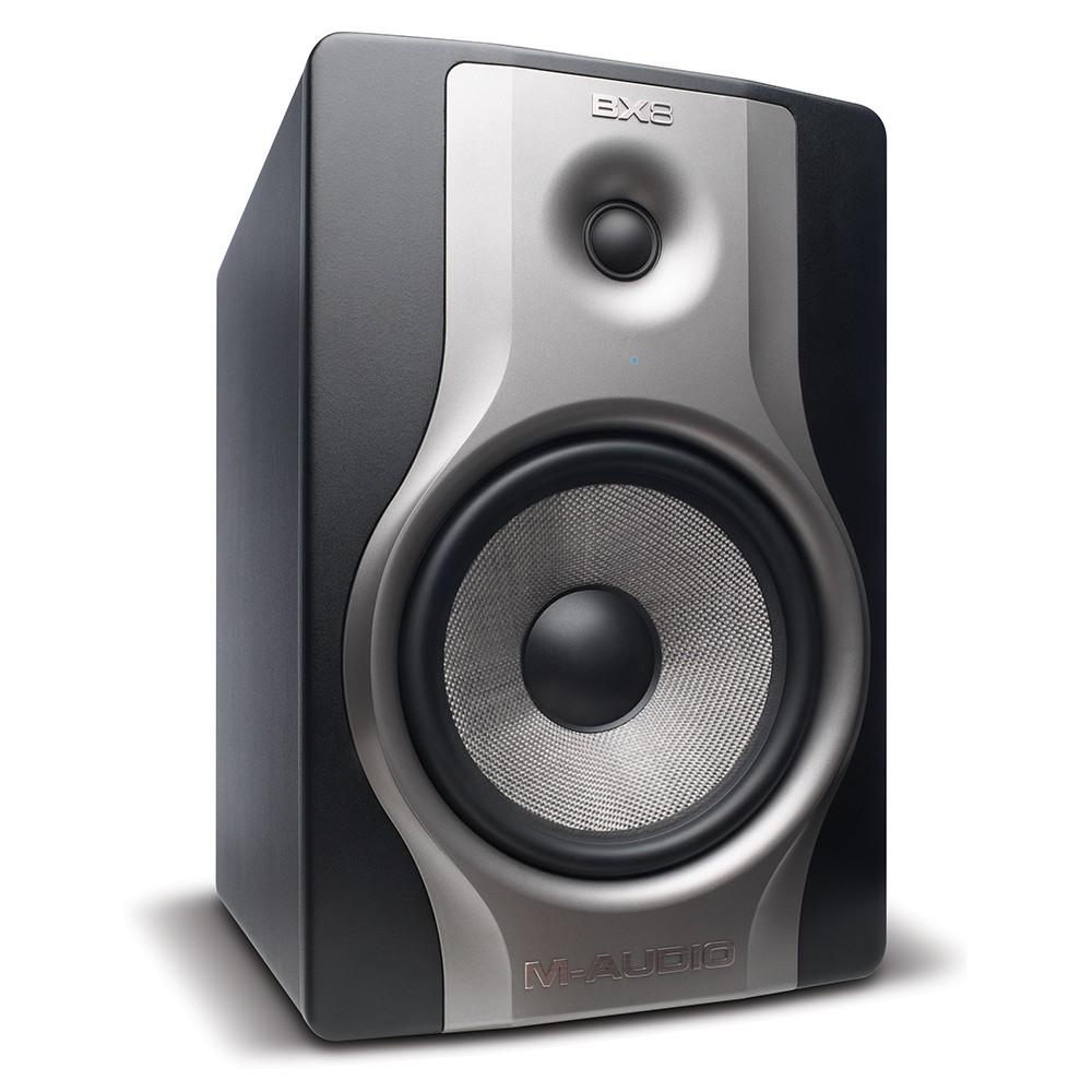 M-Audio BX8 Monitor de referencia, 8 Polegadas, 130W, Par