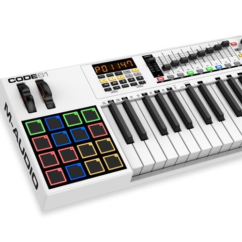 M-Audio Code 61, Teclado Controlador 61 Teclas, Midi