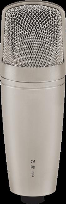 Behringer C-1U Microfone Condensador Usb, Ideal Para Gravações