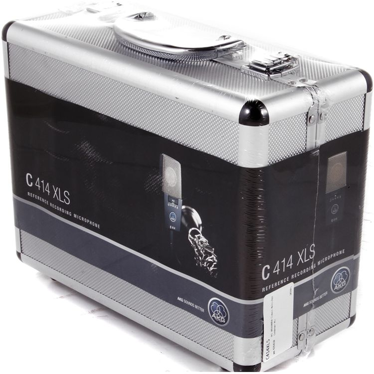 Akg C414 XLS Microfone Condensador, Maleta+Suporte