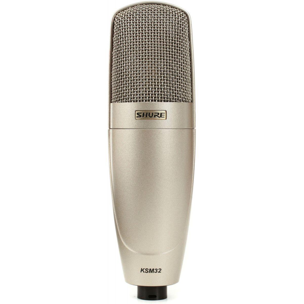 Shure KSM32/SL Microfone Condensador, Cardióide, Estúdio
