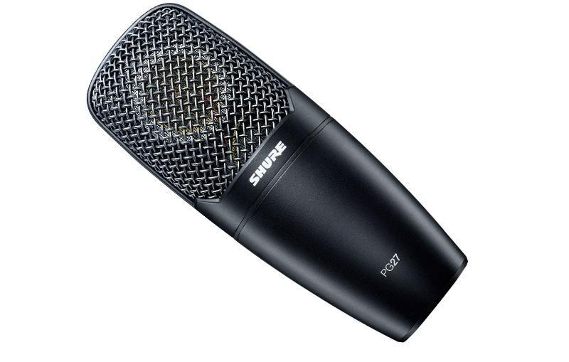 Shure PG-27 Usb Microfone Condensador, Ideal para Gravações