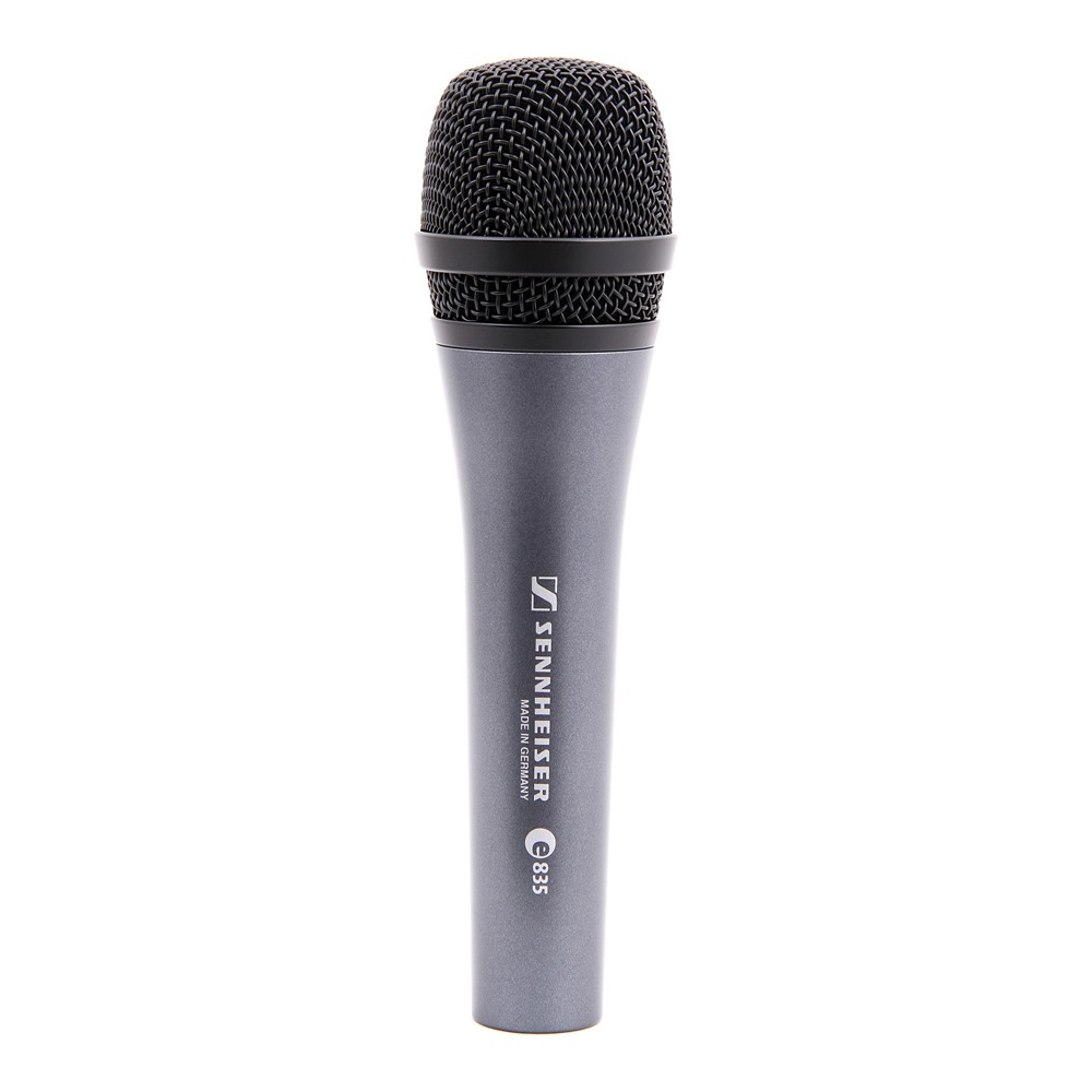 Sennheiser E835 Treepack Microfone Dinâmico, Kit 3 Peças