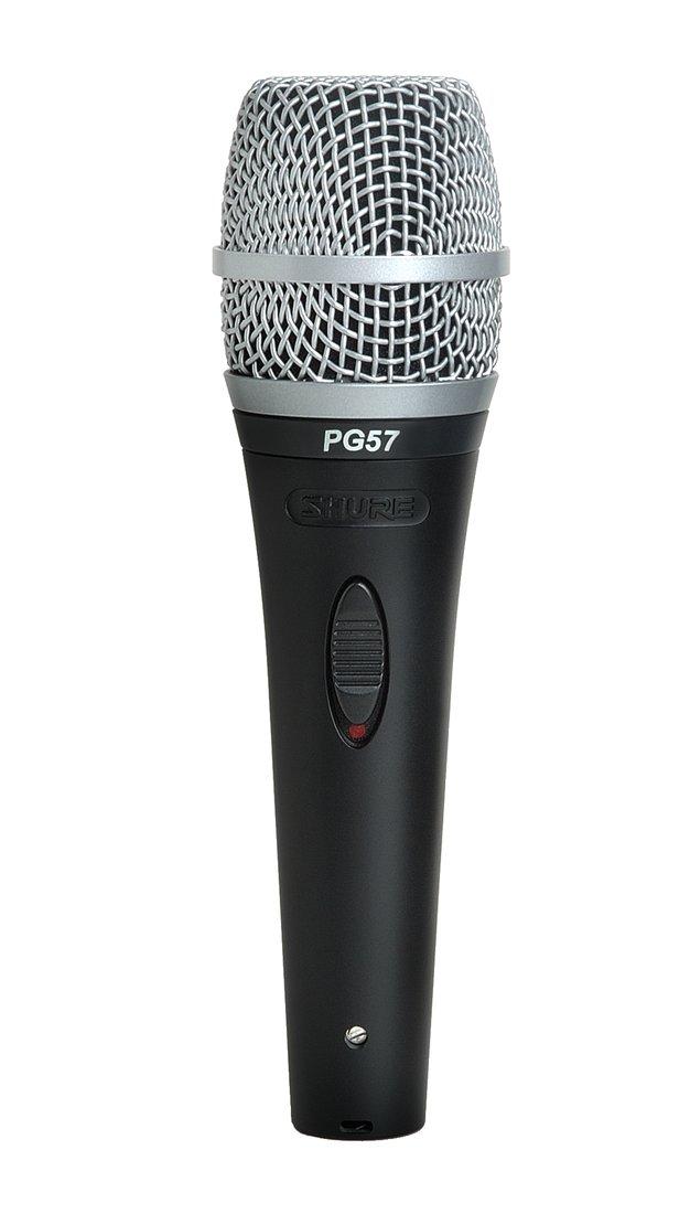 Shure PG-57 Microfone Dinâmico Para Instrumentos