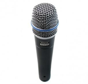 Shure Beta 57A Microfone Para Instrumentos