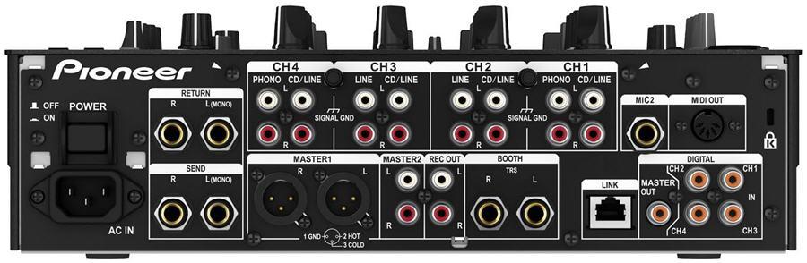 Pioneer DJM-900 Nexus Mixer Dj, Preto, Bivolt