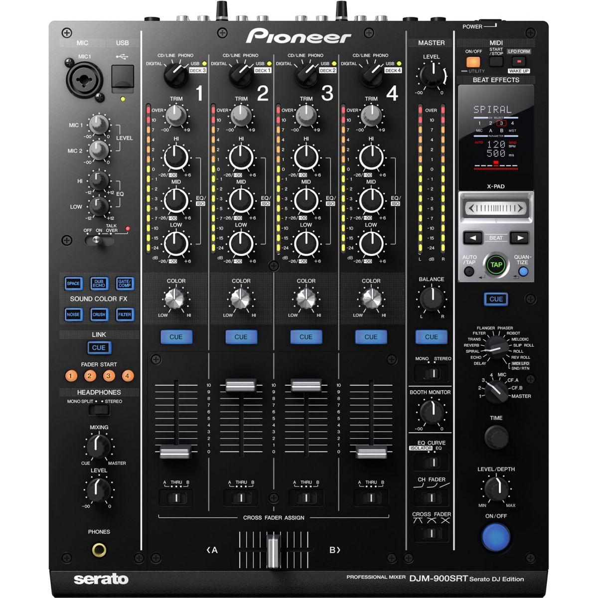 Pioneer DJM-900 SRT Mixer Dj, Bivolt