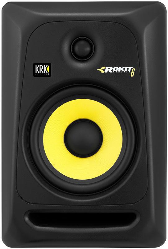 KRK Rokit 6 G3 RP6 Monitor de Áudio, Preto, 110v, Par