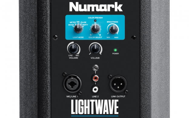 Numark LightWave, Caixa Ativa 6 polegadas Luminosa