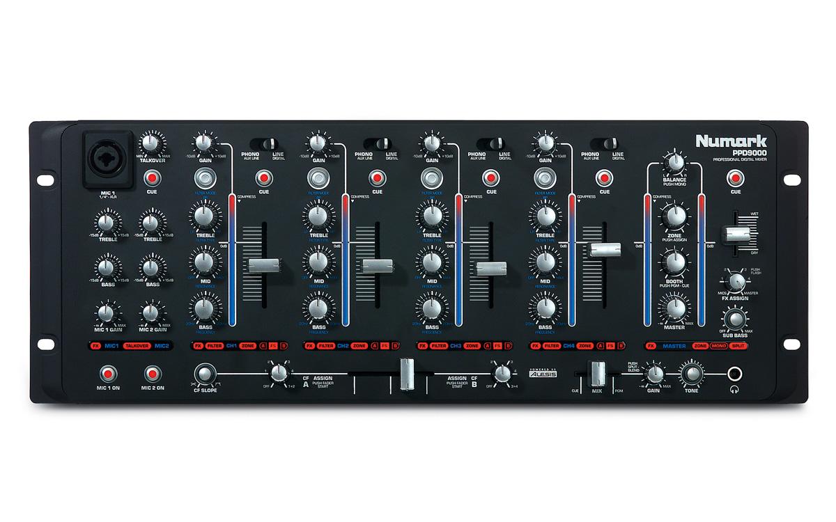 Numark PPD9000, Mixer Digital Dj