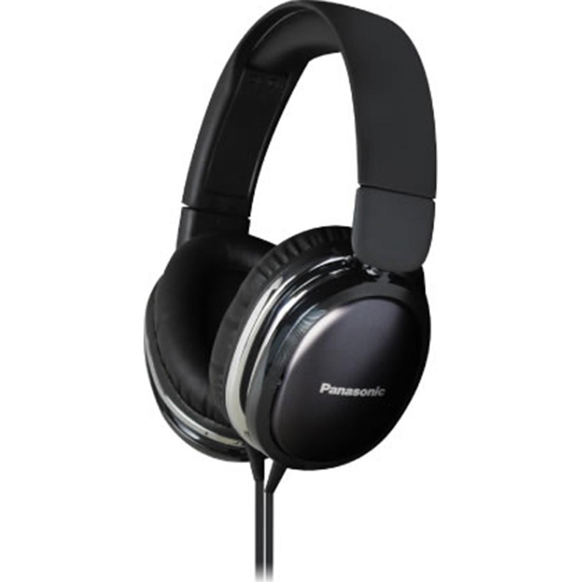 Panasonic RP-HX350M Fone de Ouvido Com Microfone, Preto