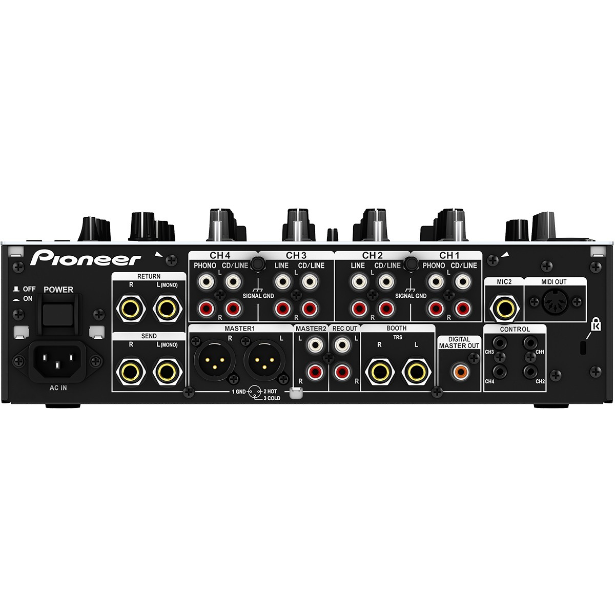Pioneer DJM-850 Mixer Dj, Branco, bivolt