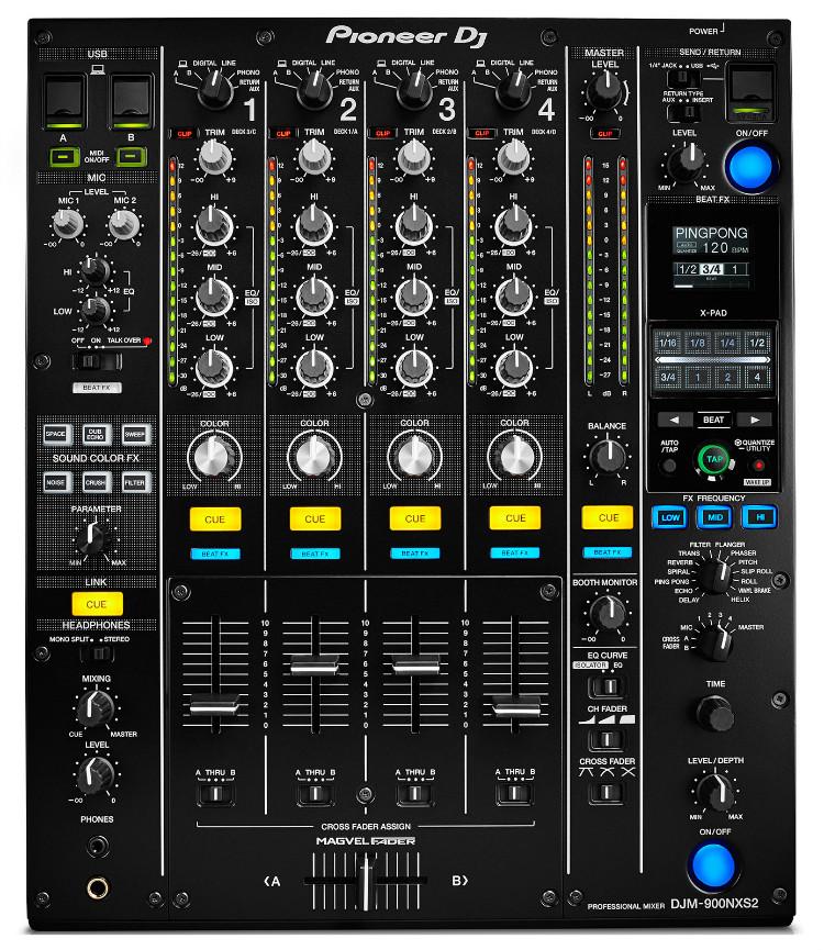Pioneer DJM-900NXS2, Mixer profissional para Dj