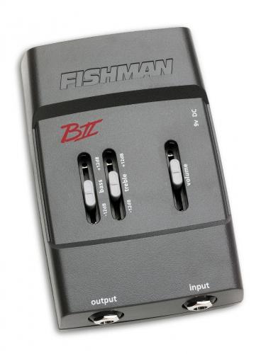 Fishman Pro Mod BA2 B-II Bass Pré-Amplificador Ideal para Baixo