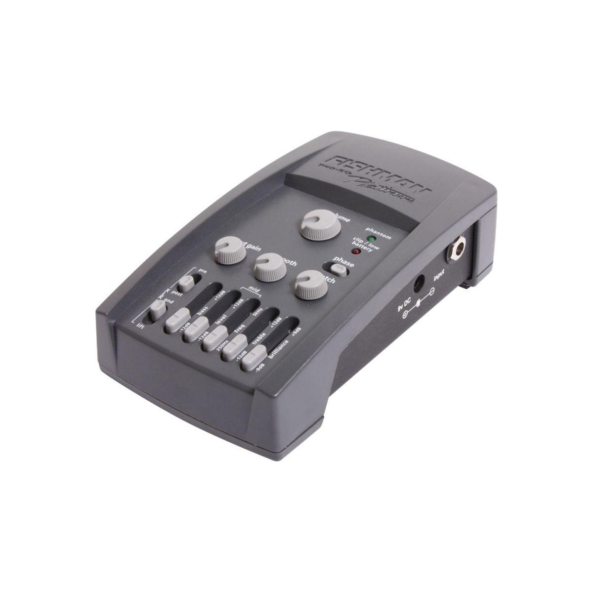 Fishman Pro PLT 101 PRO-EQ Platinum Pré-Amplificador