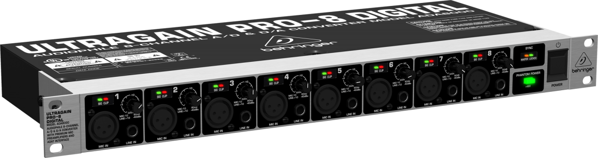 Behringer ADA-8000 Interface, 110v
