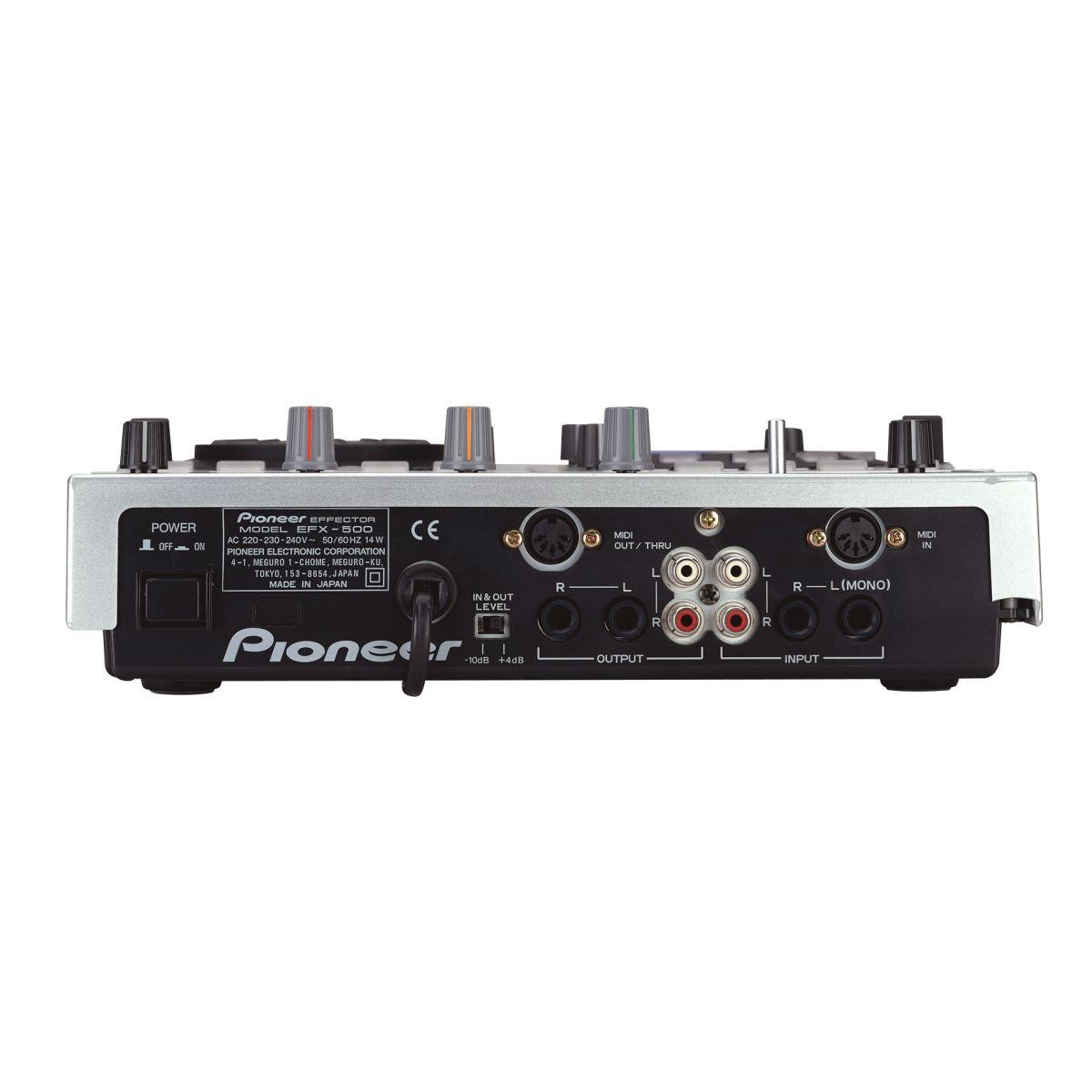 Pioneer EFX-500 Processador de Efeitos
