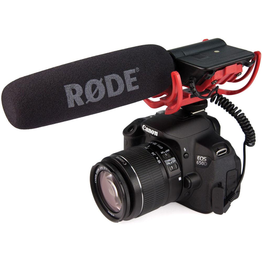 Rode Videomic Rycote Microfone Shotgun para Camera