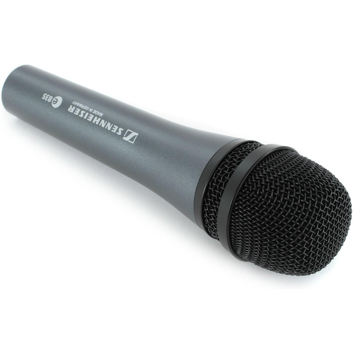 Sennheiser E835 Treepack Microfone Dinâmico, Pacote com 3 Peças