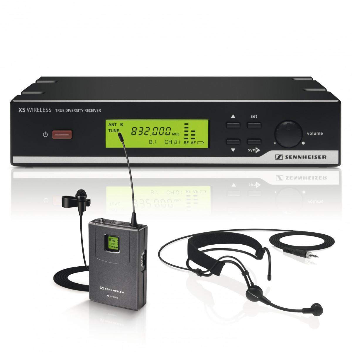 Sennheiser XSW 52 Microfone Cardioide sem Fio