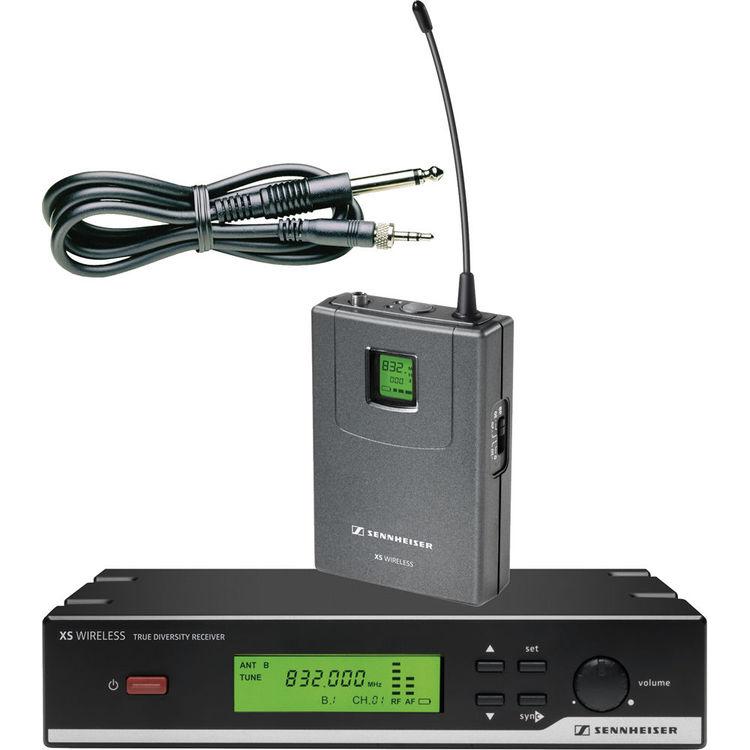 Sennheiser XSW 72  Sistema Sem Fio Para Instrumentos