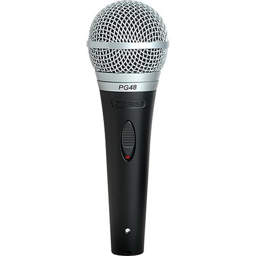Shure PG48 Microfone Dinâmico Cardioide