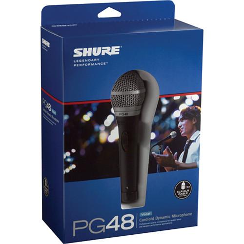 Shure PG48 Microfone Din�mico Cardioide
