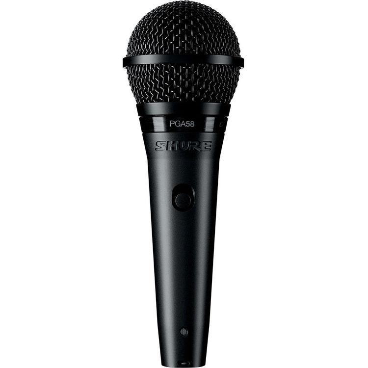 Shure PG58 Microfone Dinâmico Cardioide