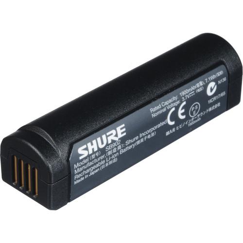 Shure SB902 Bateria Recarregável De Lítio Para GLXD