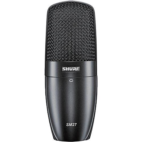 Shure SM27 Microfone Condensador Cardioide