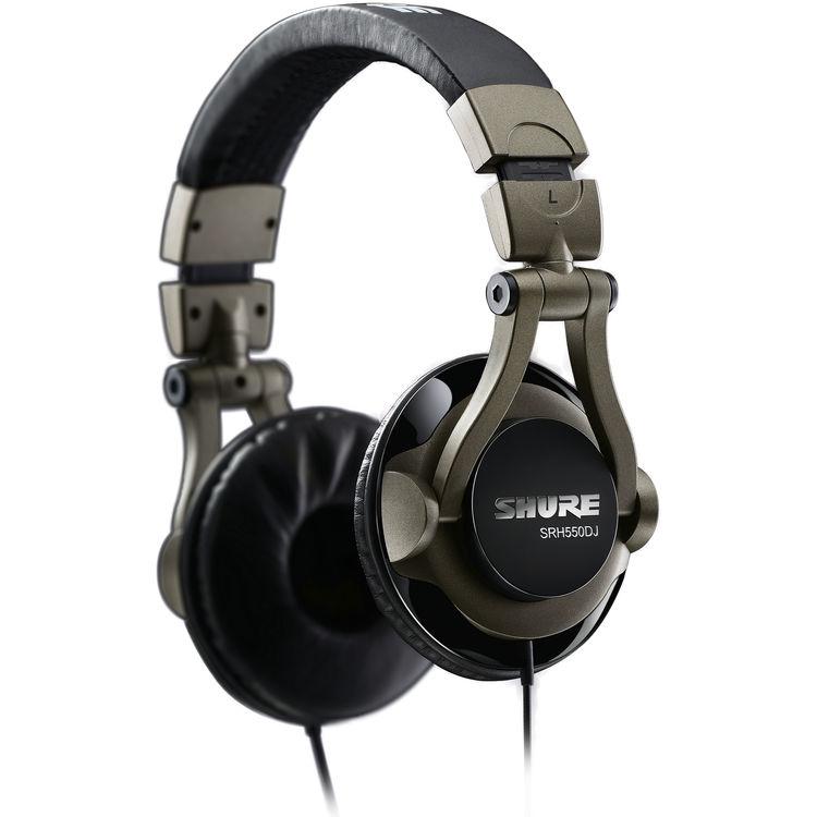 Shure SRH550DJ Fone Profissional DJ