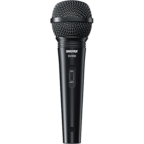 Shure SV200 Microfone Dinâmico Cardioide Vocal