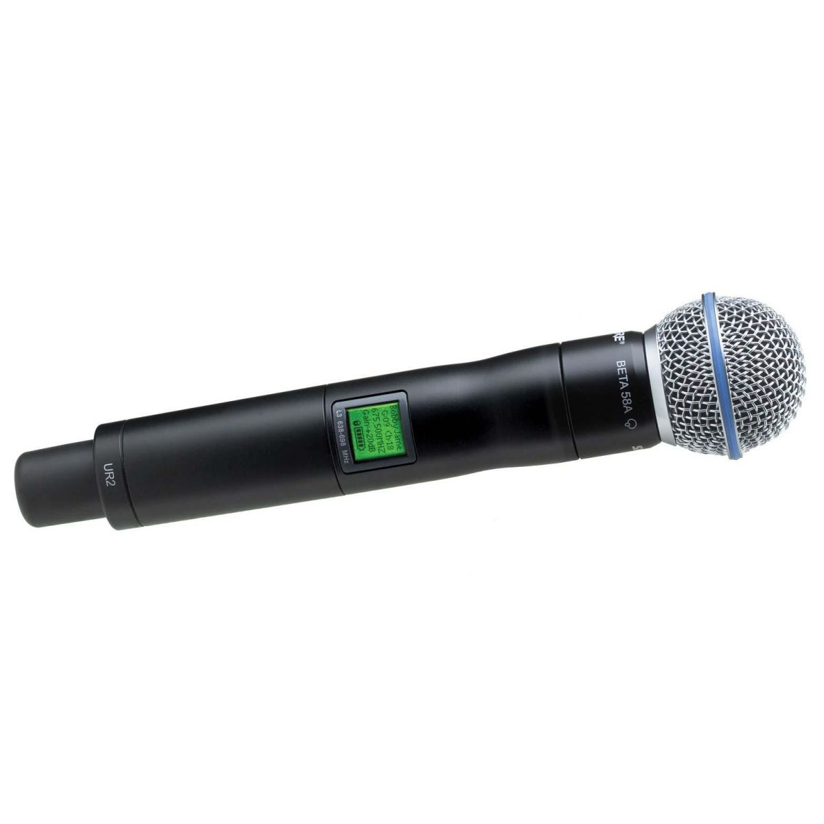 Shure UR2/Beta58 Microfone Transmissor Sem Fio UHF-R