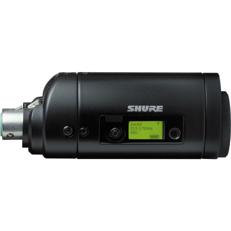 Shure UR3 Plug-On Transmissor Sem Fio UHF-R