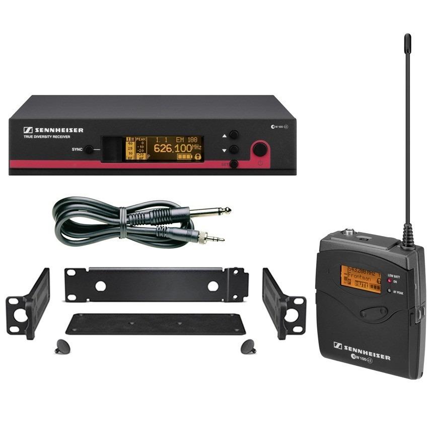 Sennheiser EW 172 G3 Sistema Microfone Para Instrumentos