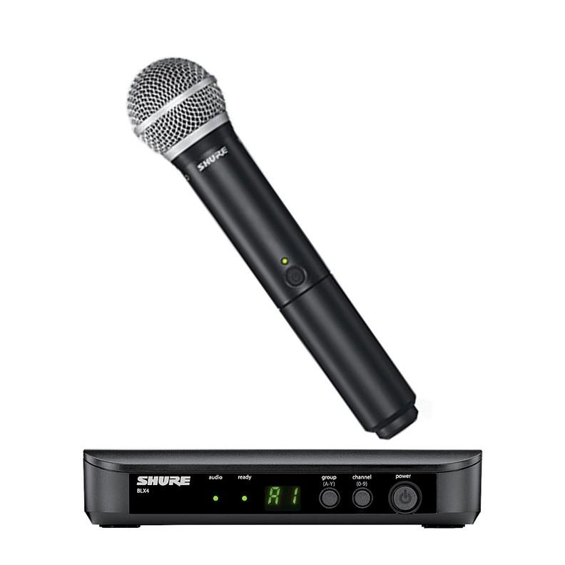 Shure BLX24/PG58 Sistema Microfone Sem Fio