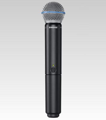 Shure BLX24/Beta58 Sistema Microfone Sem Fio