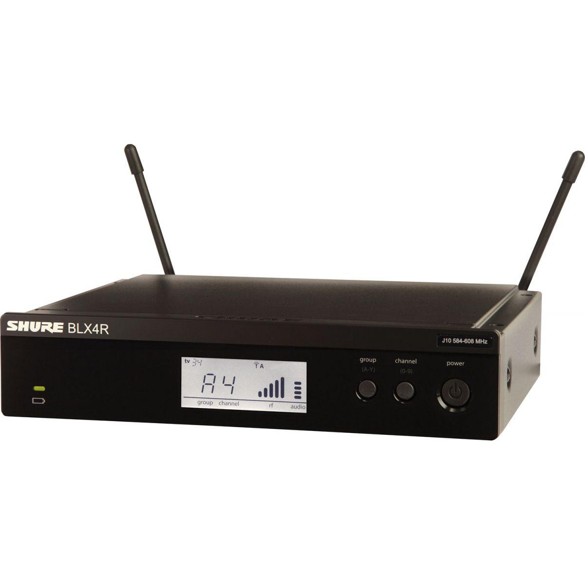 Shure BLX24R/SM58 Sistema Microfone Sem Fio