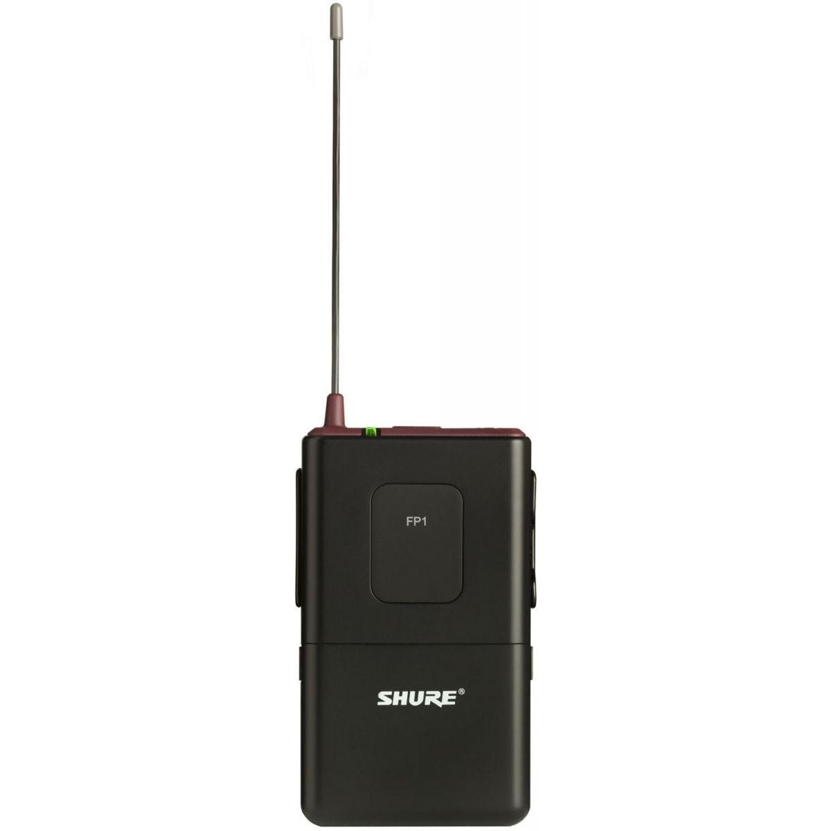 Shure FP15/83 Sistema Microfone Sem Fio, Lapela para Câmera
