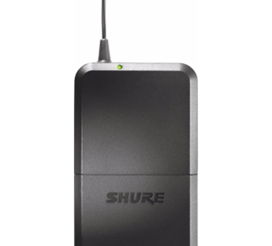 Shure PG14/PG185 Sistema Microfone Sem Fio, Lapela