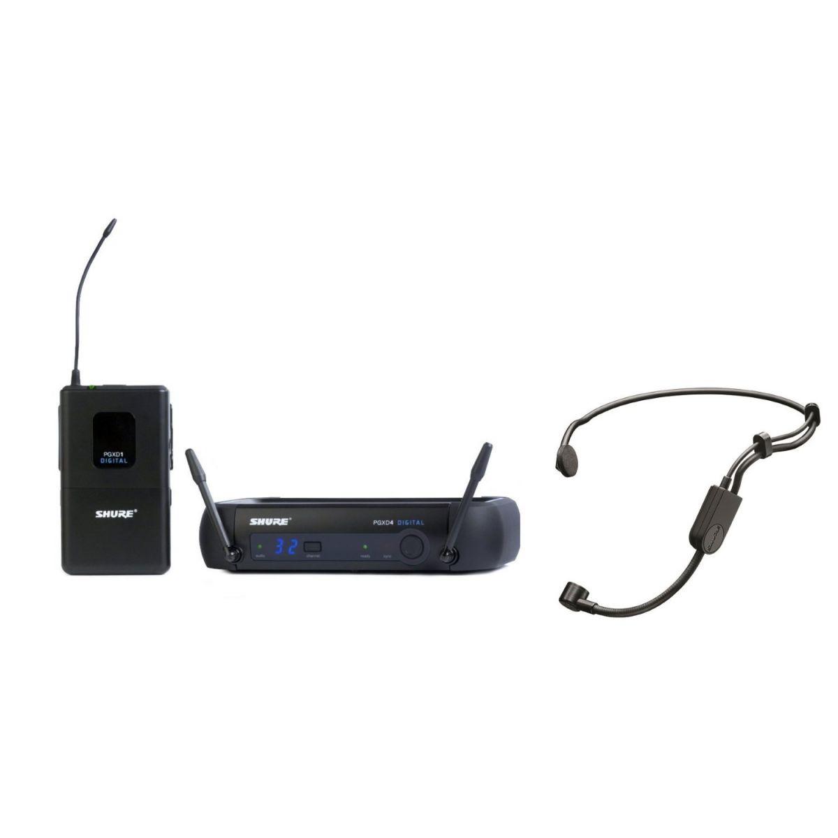Shure PGXD14/PGA31 Sistema Microfone Sem Fio