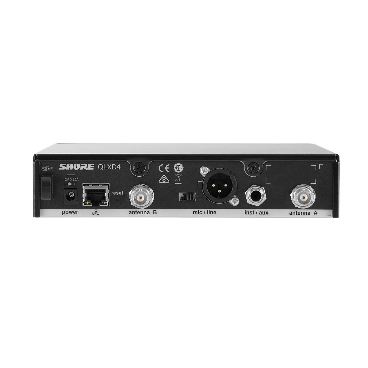 Shure QLXD24/BETA58 Sistema Microfone Sem Fio
