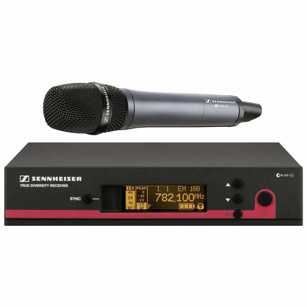 Sennheiser EW 135 G3 Sistema Microfone Sem Fio De Mão