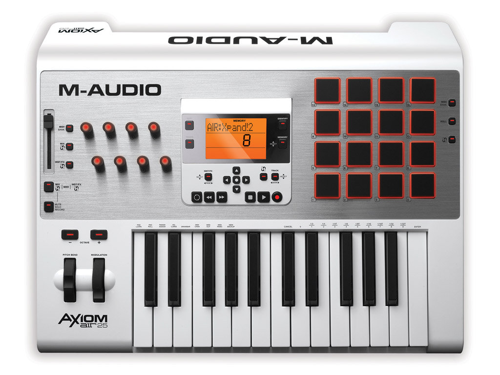M-Audio Axiom Air 25 Teclado Controlador Midi, Usb
