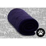 Cobertor Manta Pet Shop Microfibra Azul Marinho