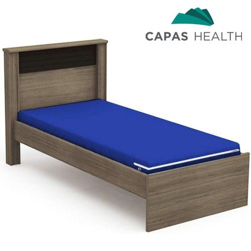 Capa Colchão Hospitalar Solteiro Azul 0,78 x 1,88 x 0,14 cm