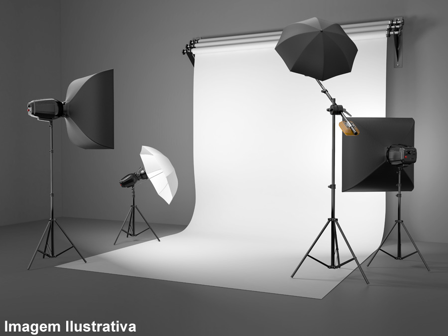 Tecido Fundo Infinito Estúdio Fotográfico 1,50 x 1,45m