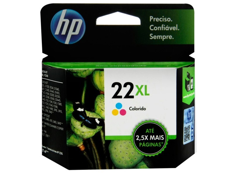 CARTUCHO HP Nº 22XL COLOR (C9352CB)