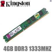 MEMORIA 4GB DDR3 1333 KINGSTON
